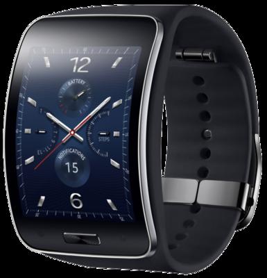 Смарт-часы Samsung Gear SM-R7500 Black 1