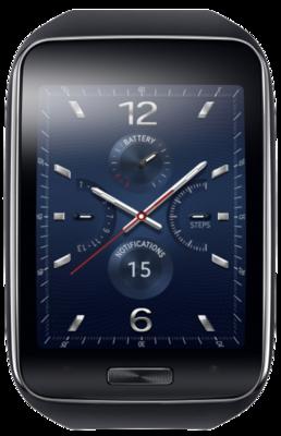 Смарт-часы Samsung Gear SM-R7500 Black 2