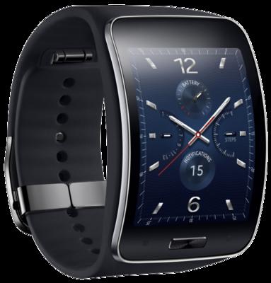 Смарт-часы Samsung Gear SM-R7500 Black 3