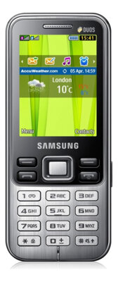 Мобильный телефон Samsung GT-C3322 Black 1