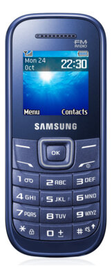 Мобільний телефон Samsung GT-E1200 Indigo Blue 1