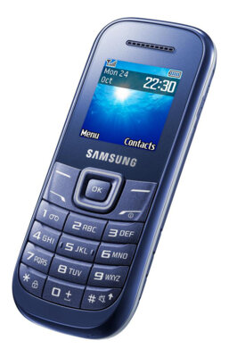 Мобільний телефон Samsung GT-E1200 Indigo Blue 3