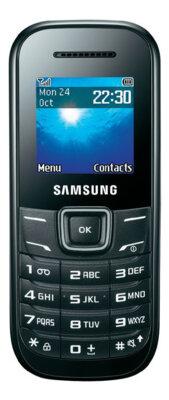 Мобильный телефон Samsung GT-E1200 Black 1