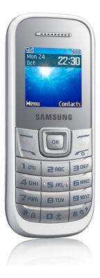 Мобильный телефон Samsung GT-E1200 White 1