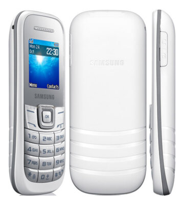 Мобільний телефон Samsung GT-E1200 White 2