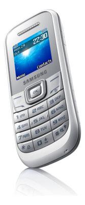Мобильный телефон Samsung GT-E1200 White 3