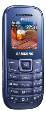 Мобильный телефон Samsung GT-E1202 Indigo Blue 1