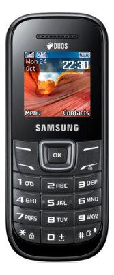 Мобильный телефон Samsung GT-E1202 Black 1