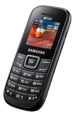 Мобильный телефон Samsung GT-E1200 Black 3