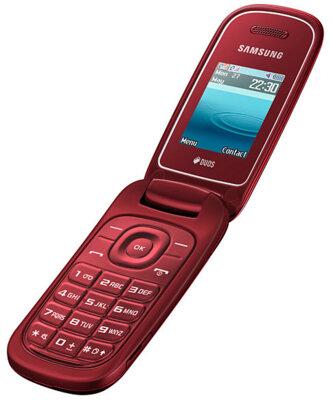 Мобильный телефон Samsung E1272 Duos Red 3