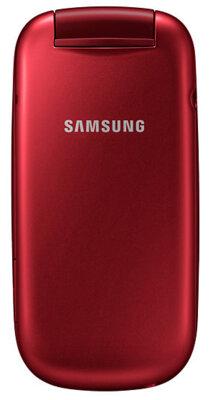 Мобильный телефон Samsung E1272 Duos Red 5