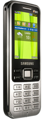 Мобильный телефон Samsung GT-C3322i Midnight Black 4