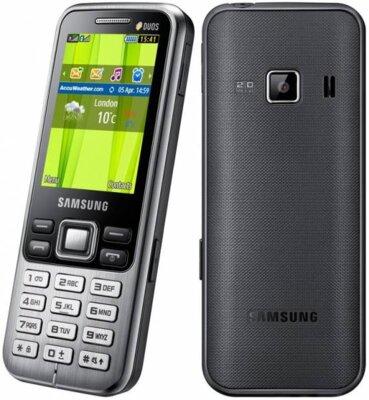 Мобильный телефон Samsung GT-C3322i Midnight Black 3