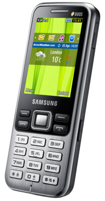 Мобильный телефон Samsung GT-C3322i Midnight Black 2
