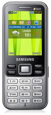 Мобильный телефон Samsung GT-C3322i Midnight Black 1