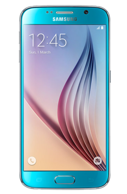 Смартфон Samsung Galaxy S6 Duos 64GB SM-G920F Blue 1