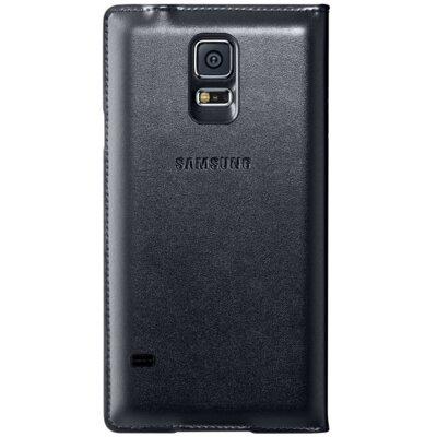 Чехол Samsung S Charger Cover S-View EP-VG900BBRGRU Black для Galaxy S5 3