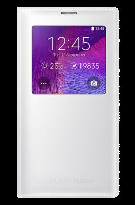 Чехол Samsung S view EF-CN910FTEGRU White для Galaxy Note 4 1