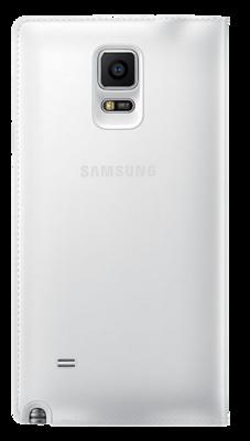Чехол Samsung S view EF-CN910FTEGRU White для Galaxy Note 4 3