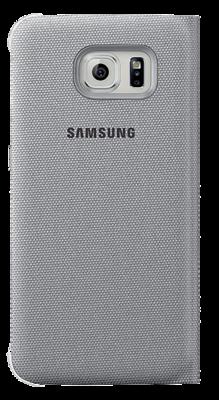 Чохол Samsung S View EF-CG920BSEGRU Silver для Galaxy S6 2