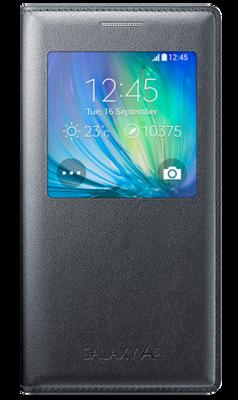 Чохол Samsung S View EF-CA500BCEGRU Charcoal для Galaxy A5 1