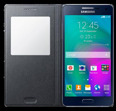 Чохол Samsung S View EF-CA500BCEGRU Charcoal для Galaxy A5 2