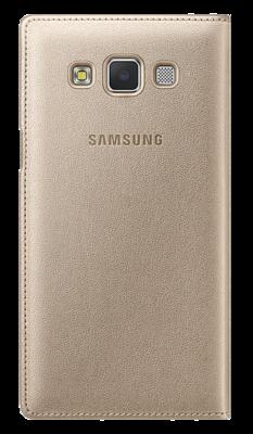 Чохол Samsung S View EF-CA500BFEGRU Gold для Galaxy A5 4