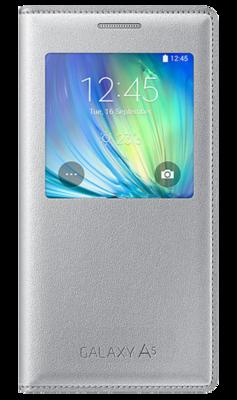 Чехол Samsung S View EF-CA500BSEGRU Silver для Galaxy A5 1