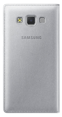 Чехол Samsung S View EF-CA500BSEGRU Silver для Galaxy A5 4