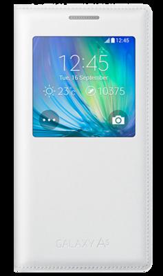 Чохол Samsung S View EF-CA500BWEGRU White для Galaxy A5 1