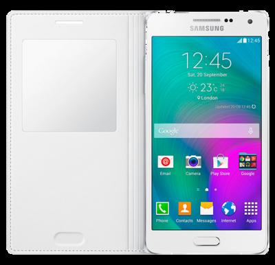 Чохол Samsung S View EF-CA500BWEGRU White для Galaxy A5 2