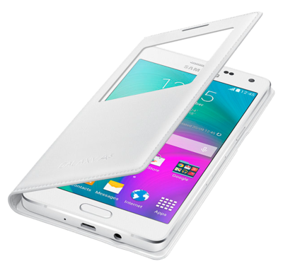 Чохол Samsung S View EF-CA500BWEGRU White для Galaxy A5 3