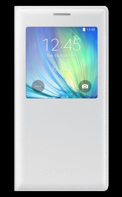 Чохол Samsung S Cover View EF-CA700BWEGRUWhite для Galaxy A7 1