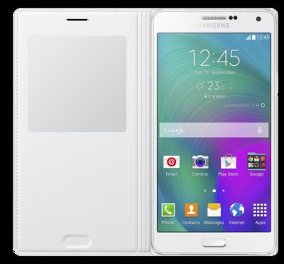 Чохол Samsung S Cover View EF-CA700BWEGRUWhite для Galaxy A7 2