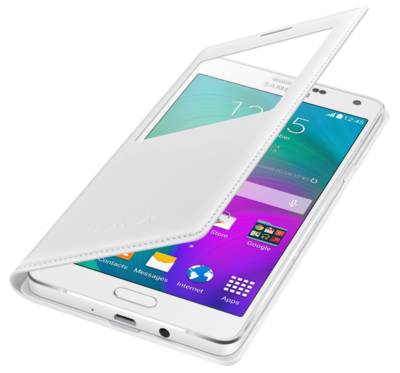 Чохол Samsung S Cover View EF-CA700BWEGRUWhite для Galaxy A7 3