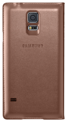 Чохол Samsung S View EF-CG900BFEG Rose Gold для Galaxy S5 3