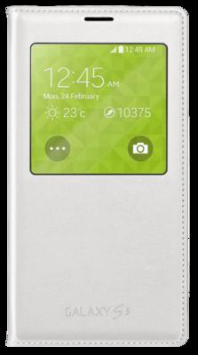 Чехол Samsung S View EF-CG900BWEG White для Galaxy S5 1