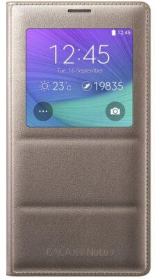 Чехол Samsung S view EF-CN910BEEGRU Golden Camel для Galaxy Note 4 1
