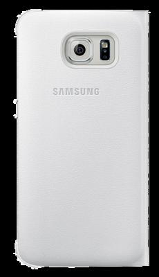 Чохол Samsung Flip Wallet EF-WG920PWEGRU White для Galaxy S6 3