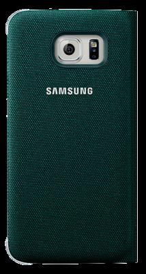 Чохол Samsung Flip Wallet EF-WG925BGEGRU Green для Galaxy S6 Edge 3