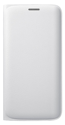 Чохол Samsung Flip Wallet EF-WG925PWEGRU White для Galaxy S6 Edge 1