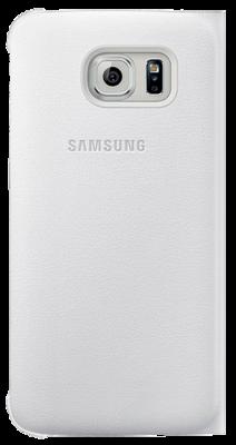 Чохол Samsung Flip Wallet EF-WG925PWEGRU White для Galaxy S6 Edge 3