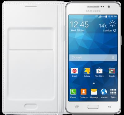 Чехол Samsung Flip Wallet EF-WG530BWEGRU White для Galaxy Grand Prime 3