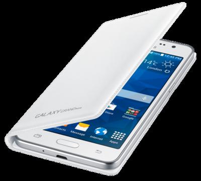 Чехол Samsung Flip Wallet EF-WG530BWEGRU White для Galaxy Grand Prime 4
