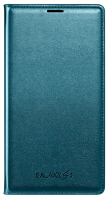 Чехол Samsung Flip Wallet EF-WG900BGEGRU Green для Galaxy S5 1
