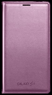 Чохол Samsung Flip Wallet EF-WG900BPEG Pink для Galaxy S5 1
