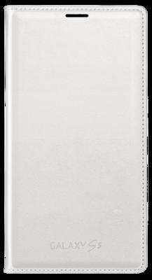 Чохол Samsung Flip Wallet EF-WG900BWEG White для Galaxy S5 1