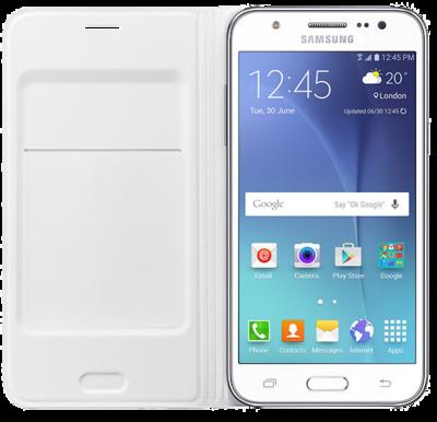 Чехол Samsung Flip Wallet EF-WJ500BWEGRU White для Galaxy J5 2