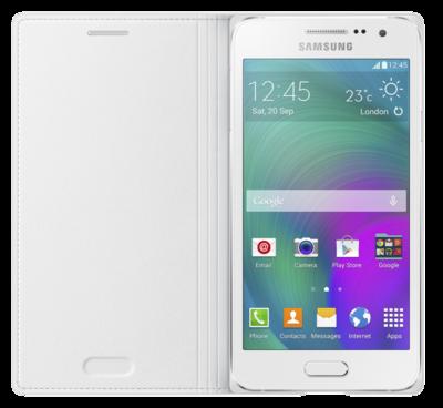 Чехол Samsung Flip Cover EF-FA300BWEGRU White для Galaxy A3 2