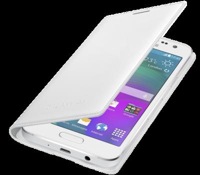 Чехол Samsung Flip Cover EF-FA300BWEGRU White для Galaxy A3 3